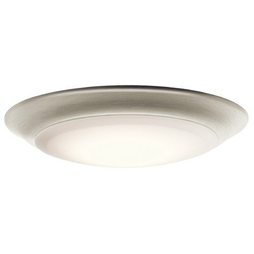 Kichler Lighting Kichler Lighting Brushed Nickel LED Close To Ceiling Light 43848NILED27T