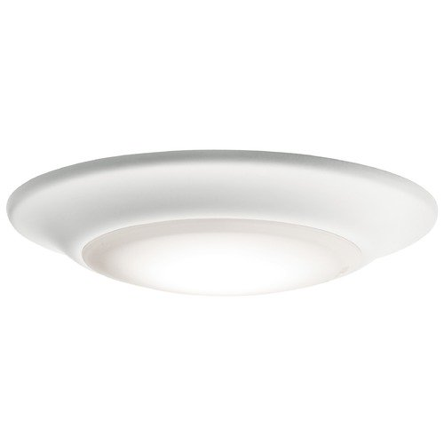 Kichler Lighting Casual LED Flushmount Light White Downlight Gen I by Kichler Lighting 43878WHLED27