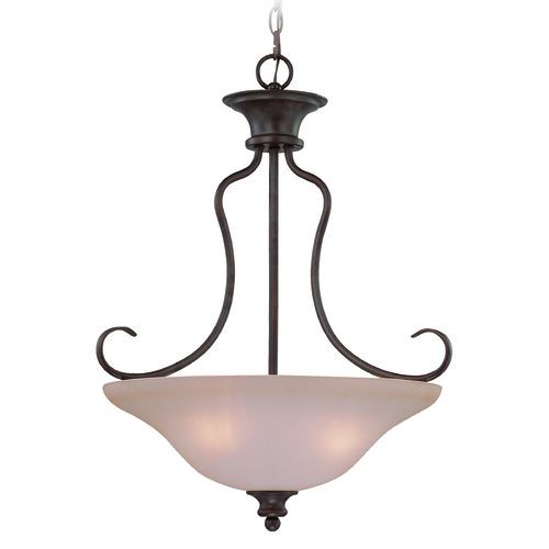 Craftmade Lighting Craftmade Linden Lane Old Bronze Pendant Light with Bowl / Dome Shade 26333-OB