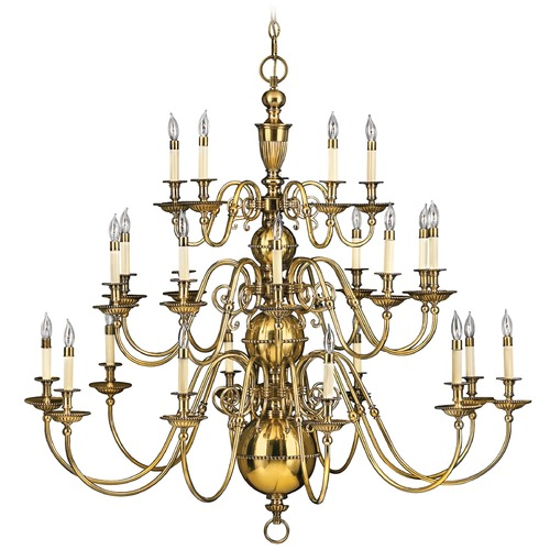 Hinkley Lighting Chandelier in Burnished Brass Finish 4419BB