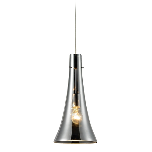 Elk Lighting Mini-Pendant Light with Mercury Glass 60065-1