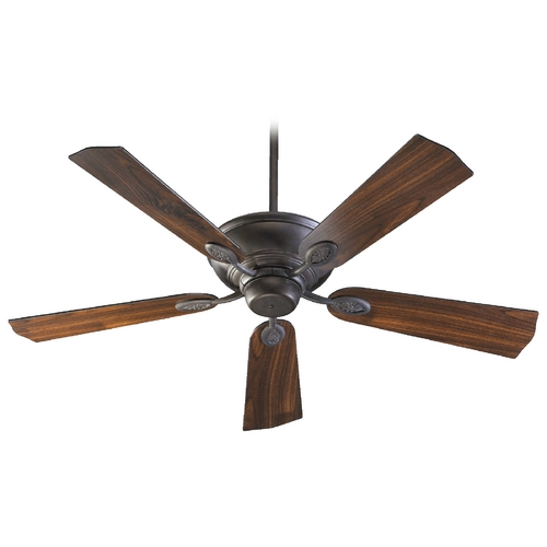 Quorum Lighting Quorum Lighting Kingsley Toasted Sienna Ceiling Fan Without Light 38525-44