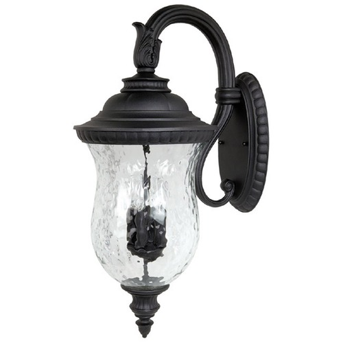 Capital Lighting Capital Lighting Ashford Black Outdoor Wall Light 9784BK