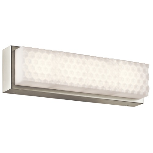 Elan Lighting Elan Lighting Merco Brushed Nickel LED Bathroom Light 83651
