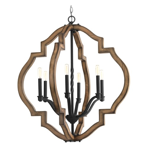Progress Lighting Progress Lighting Spicewood Gilded Iron Pendant Light P4767-71
