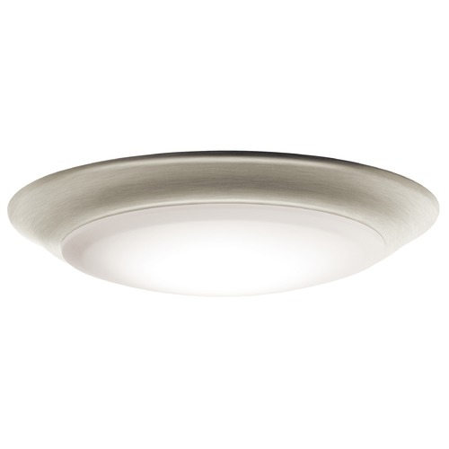 Kichler Lighting Kichler Lighting Brushed Nickel LED Close To Ceiling Light 43848NILED30T