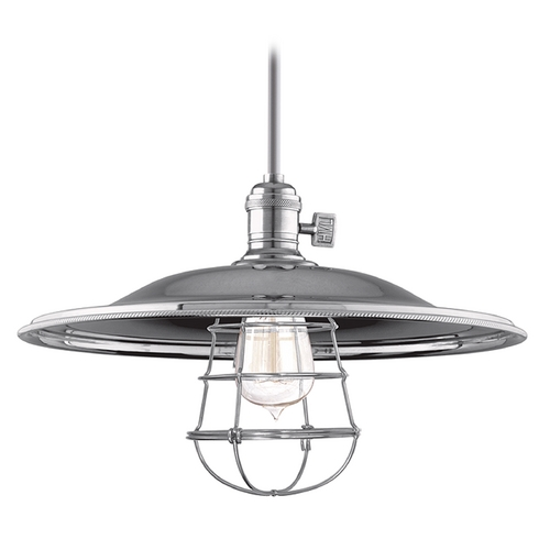Hudson Valley Lighting Pendant Light in Historic Nickel Finish 9001-HN-MM2-WG