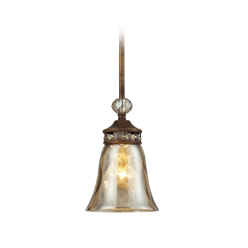 Elk Lighting Mini-Pendant Light with Clear Glass 46020/1