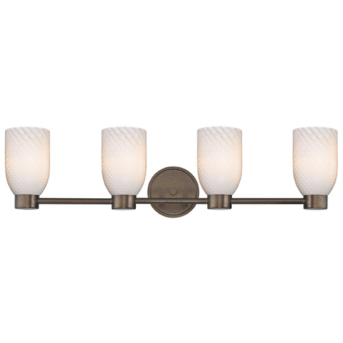 Design Classics Lighting Design Classics Aon Fuse Heirloom Bronze Bathroom Light 1804-62 GL1020D