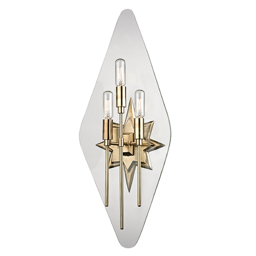 Hudson Valley Lighting Hudson Valley Lighting Westport Aged Brass Sconce 310-AGB