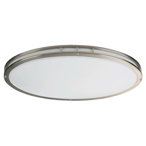 Quorum Lighting Quorum Lighting Satin Nickel Flushmount Light 87132-2-65