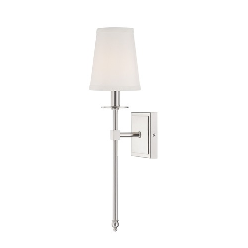Savoy House Savoy House Polished Nickel Sconce 9-302-1-109