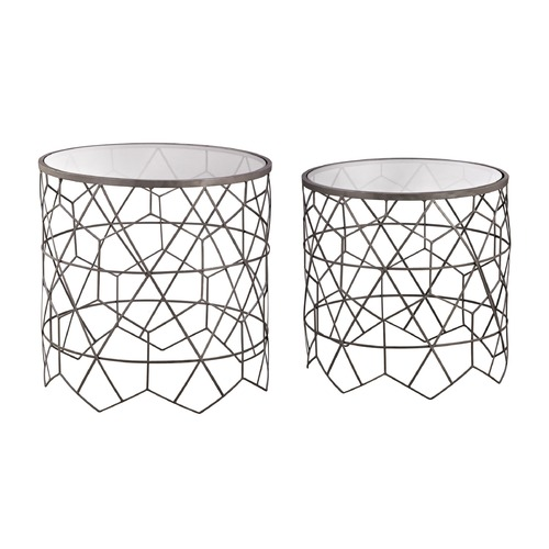 Sterling Lighting Sterling Vector Side Tables 3200-084/S2