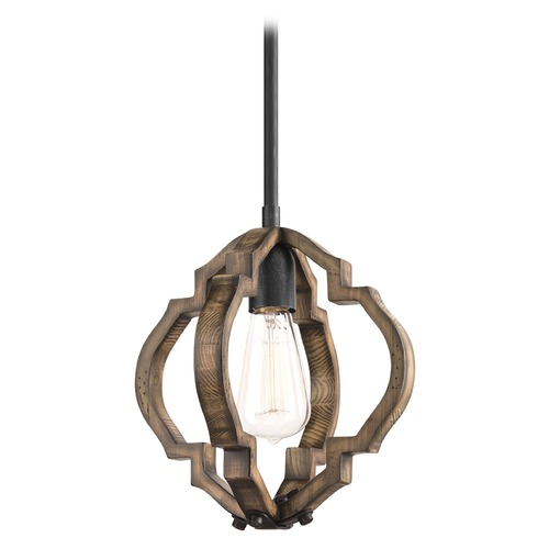 Progress Lighting Progress Lighting Spicewood Gilded Iron Mini-Pendant Light P5318-71