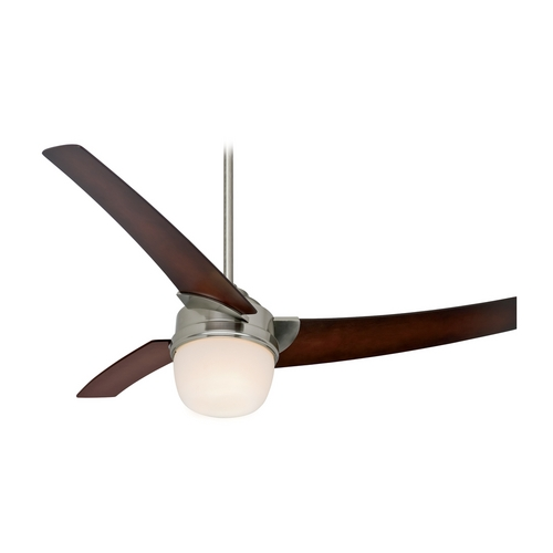 Hunter Fan Company Hunter Fan Company Eurus Brushed Nickel Ceiling Fan with Light 59054