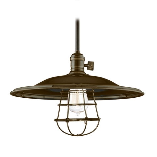 Hudson Valley Lighting Pendant Light in Old Bronze Finish 9001-OB-MM2-WG