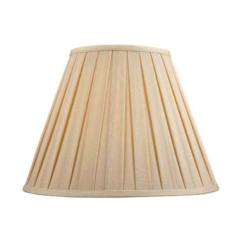 Dolan Designs Lighting Pleated Lamp Shade in Dark Beige Fabric 140141