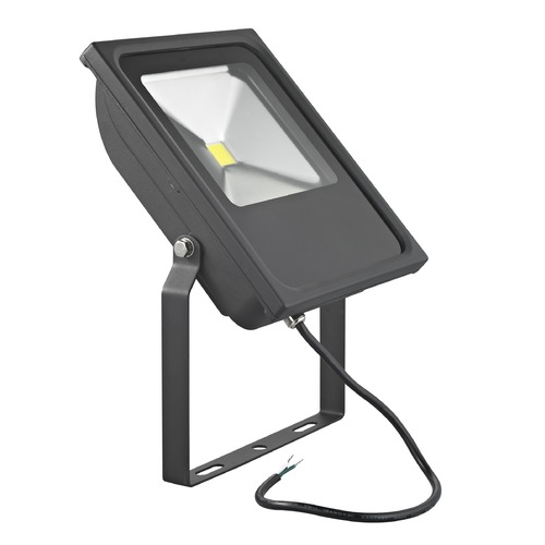 Recesso Lighting by Dolan Designs LED Flood Light Black 50-Watt 120v-277v 4620 Lumens 4000K 110 Degree Beam Spread FL01-50W-40-BK
