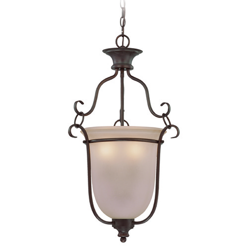 Craftmade Lighting Craftmade Linden Lane Old Bronze Pendant Light with Bell Shade 26343-OB
