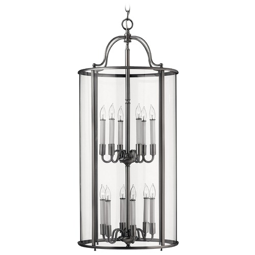 Hinkley Lighting Twelve-Light Pendant 3479PW