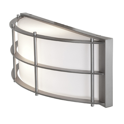 Access Lighting Access Lighting Tyro Satin Nickel Outdoor Wall Light C20373SATOPLEN1118B