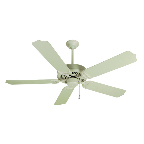 Craftmade Lighting Craftmade Lighting Porch Fan Antique White Ceiling Fan Without Light K10172