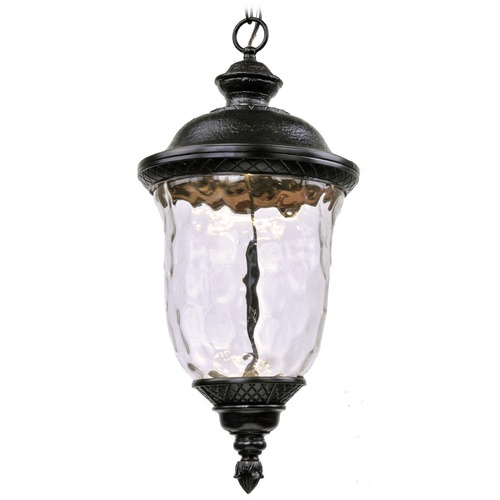 Maxim Lighting Maxim Lighting Carriage House LED Oriental Bronze LED Outdoor Hanging Light 55427WGOB