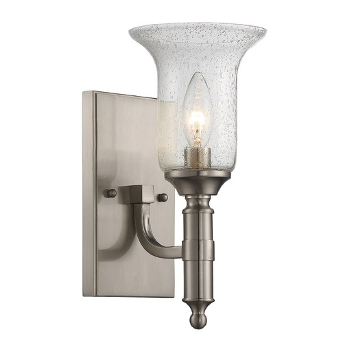 Savoy House Savoy House Lighting Trudy Satin Nickel Sconce 9-7134-1-SN