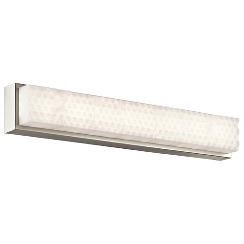 Elan Lighting Elan Lighting Merco Brushed Nickel LED Bathroom Light 83655