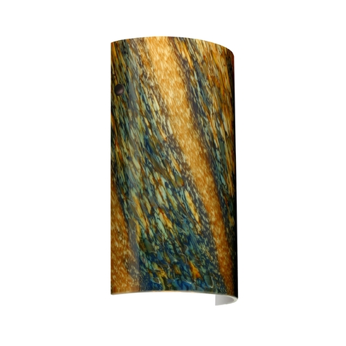 Besa Lighting Modern Sconce Wall Light Multi-Color Glass Bronze by Besa Lighting 7042CE-BR