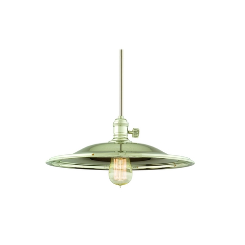 Hudson Valley Lighting Pendant Light in Polished Nickel Finish 9001-PN-MM2-WG