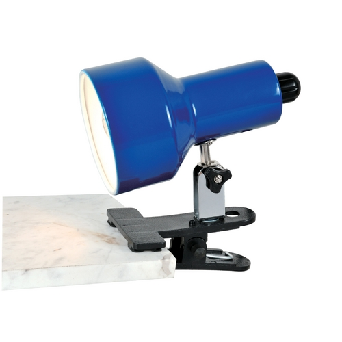 Lite Source Lighting Lite Source Lighting Clip-On II Blue Clip-On Lamp LS-114BLU
