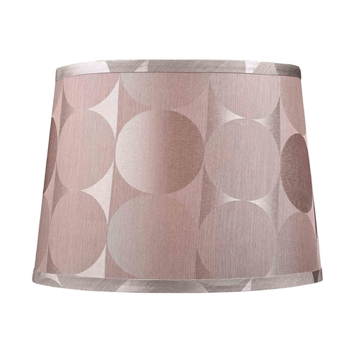 Dolan Designs Lighting Barrel Lamp Shade with Silver Circular Pattern 160111