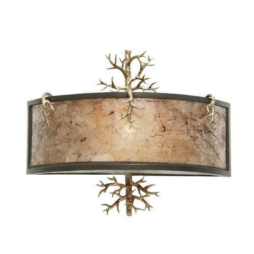 Kalco Lighting Kalco Lighting Oakham Bronze Gold Sconce 6616BZG