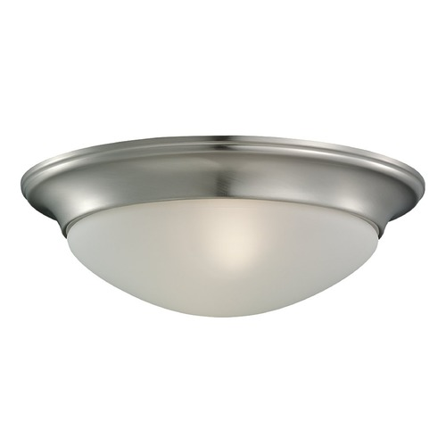 Sea Gull Lighting Sea Gull Lighting Nash Brushed Nickel LED Flushmount Light 7543491S-962