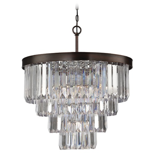 Savoy House Savoy House Burnished Bronze Chandelier 1-9800-6-28