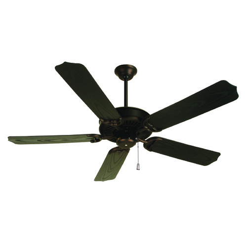 Craftmade Lighting Craftmade Lighting Porch Fan Oiled Bronze Ceiling Fan Without Light K10173
