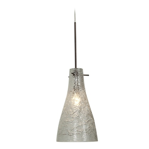 Access Lighting Access Lighting Cavo Bronze Mini-Pendant Light with Bowl / Dome Shade 23218UJ-BRZ/CRY