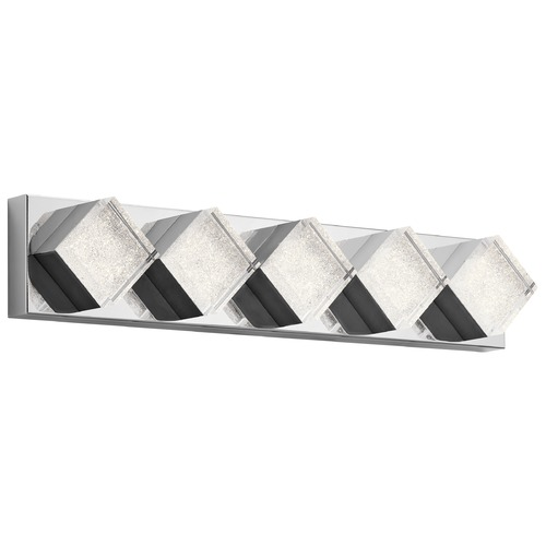 Elan Lighting Elan Lighting Gorve Chrome LED Bathroom Light 83714