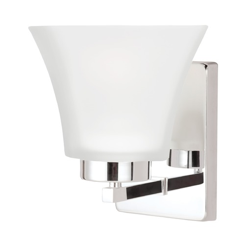 Sea Gull Lighting Sea Gull Lighting Bayfield Chrome LED Sconce 4111601EN3-05