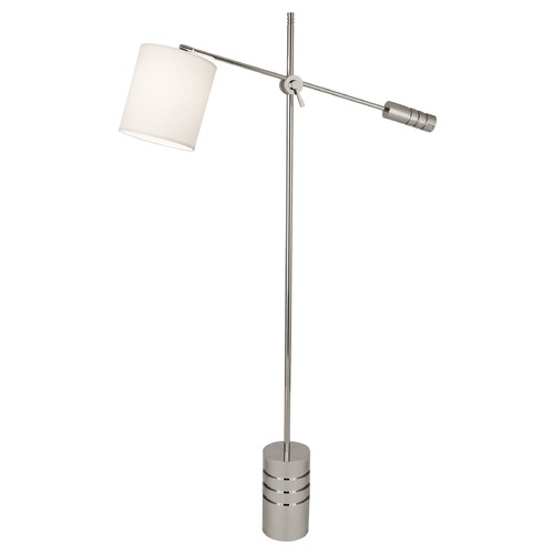 Robert Abbey Lighting Robert Abbey Lighting Campbell Floor Lamp with Polished Nickel S292
