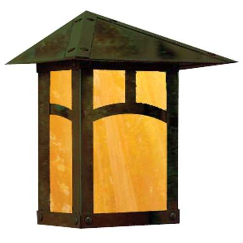 Arroyo Craftsman Lighting 10-3/4-Inch Outdoor Wall Light EW-9A-VP-GW