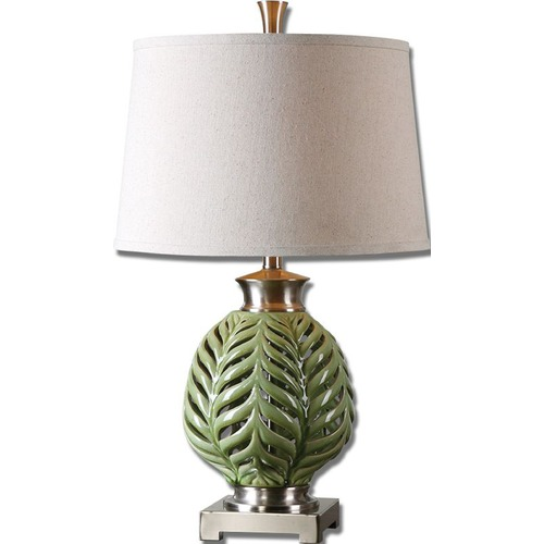 Uttermost Lighting Uttermost Flowing Fern Green Table Lamp 26285