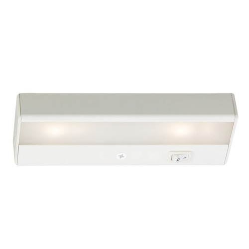 WAC Lighting WAC Lighting LED Light Bar White 8-Inch LED Under Cabinet Light BA-LED2-27-WT