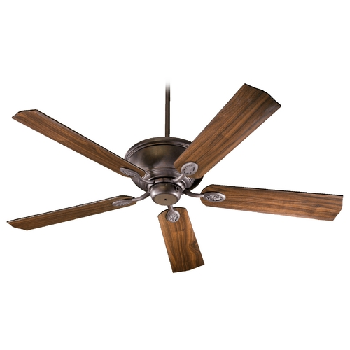 Quorum Lighting Quorum Lighting Kingsley Toasted Sienna Ceiling Fan Without Light 38605-44