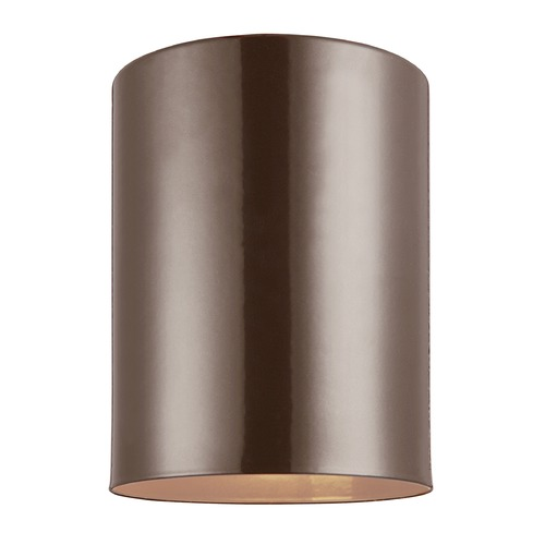 Sea Gull Lighting Sea Gull Lighting Outdoor Bullets Bronze LED Close To Ceiling Light 7813891S-10