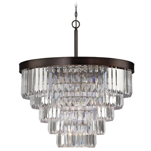 Savoy House Savoy House Burnished Bronze Chandelier 1-9802-9-28