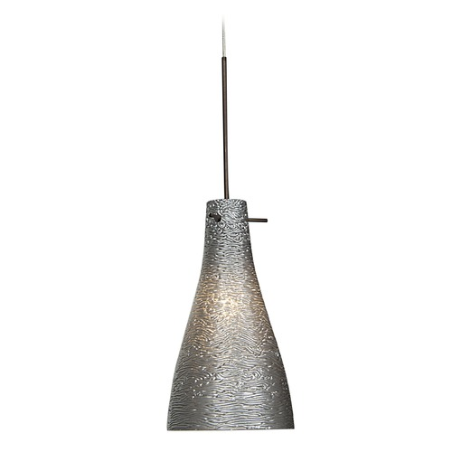 Access Lighting Access Lighting Cavo Bronze Mini-Pendant Light with Bowl / Dome Shade 23218UJ-BRZ/MTL