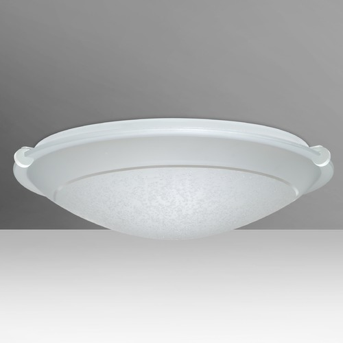 Besa Lighting Besa Lighting Trio White LED Flushmount Light 9682SFR-LED-WH