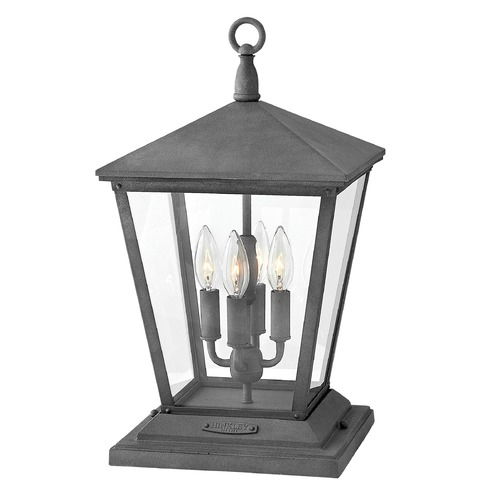 Hinkley Aged Zinc LED Post Light by Hinkley 1437DZ-LL